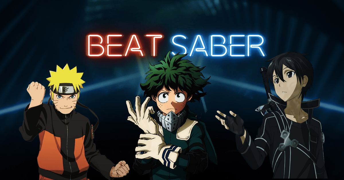 Anime Songs You Can Get on Beat Saber - Featured Image