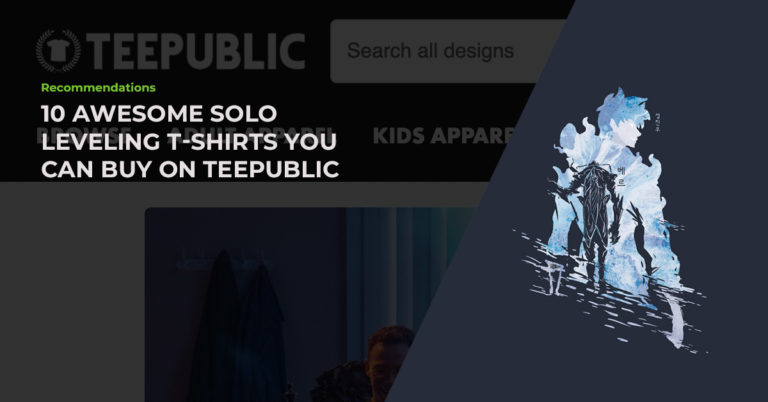 anime nomi tee public solo leveling shirt featured image
